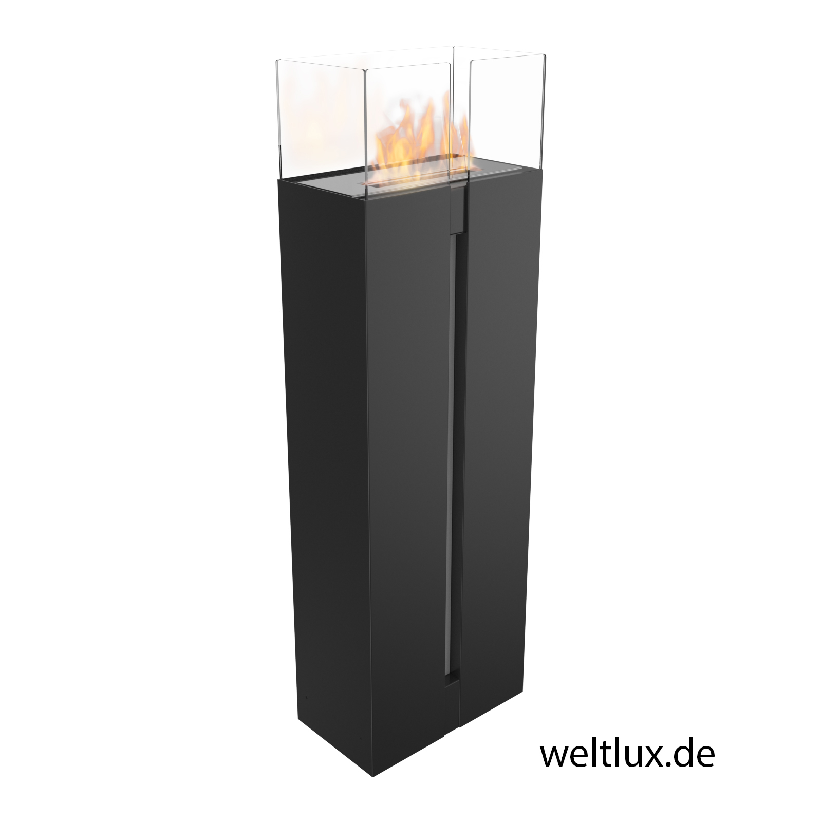 biokamin feuerstelle bio ethanol kamin bioethanol chemin e stahl mit glas neu ebay. Black Bedroom Furniture Sets. Home Design Ideas