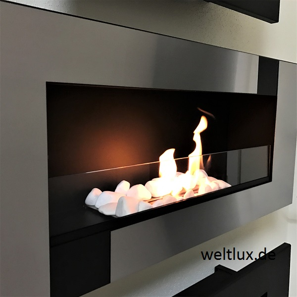 wandkamin bio ethanol kamin schwarzstahl edelstahl m o glasscheibe 65 110cm t v ebay. Black Bedroom Furniture Sets. Home Design Ideas