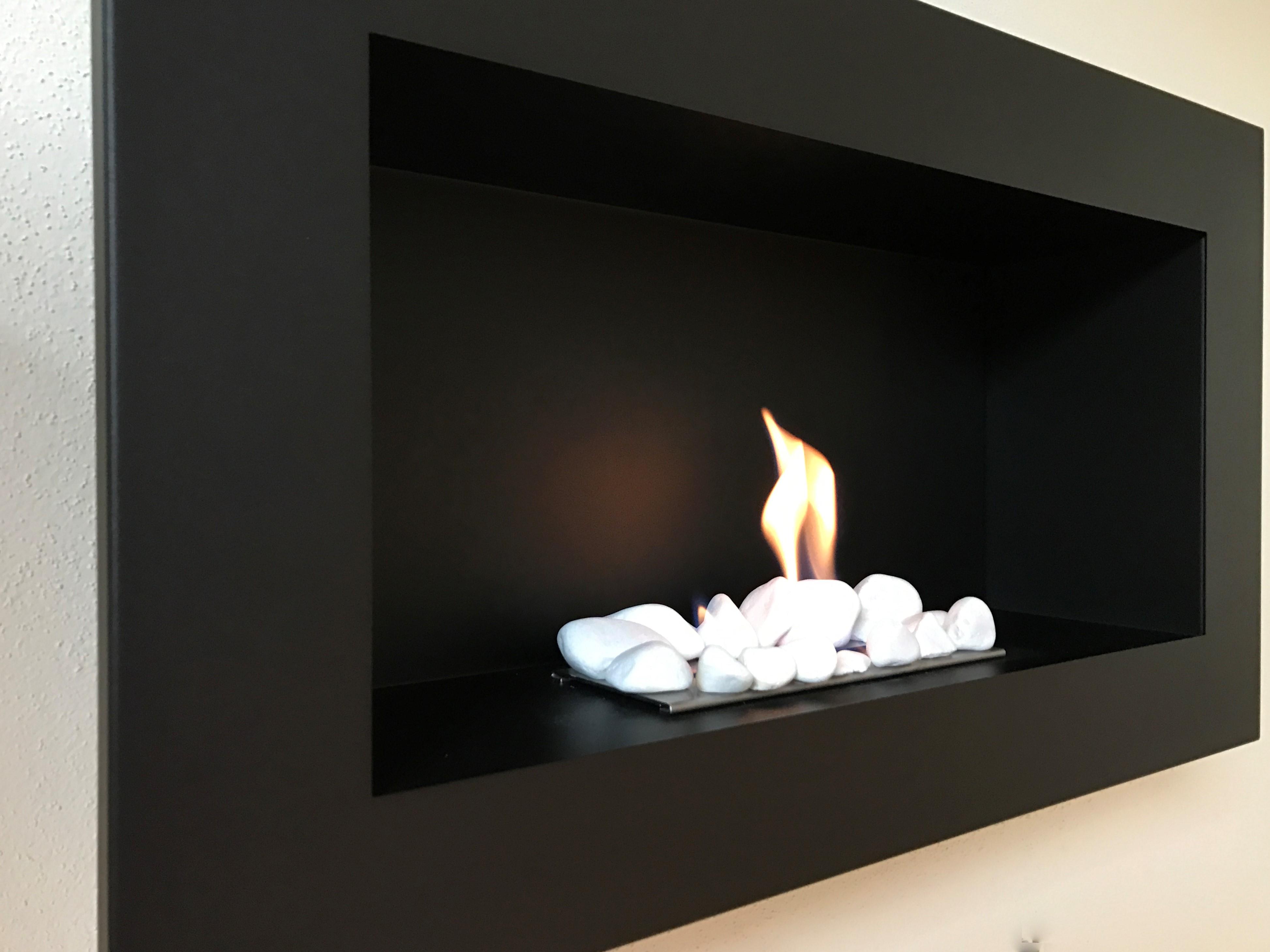 t v gepr ft chemin e bio thanol noir biokamin bioethanol kamin ebay. Black Bedroom Furniture Sets. Home Design Ideas