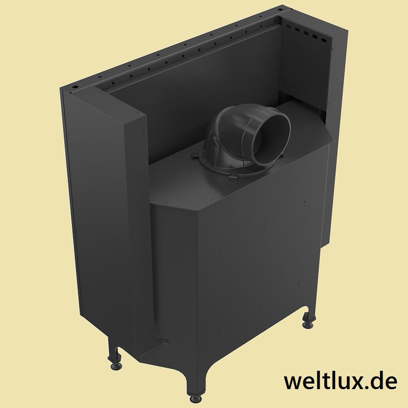 weltlux kamin nadia 14 warmluft kamineinsatz mit 14 kw und hebet r externe luftzufuhr. Black Bedroom Furniture Sets. Home Design Ideas